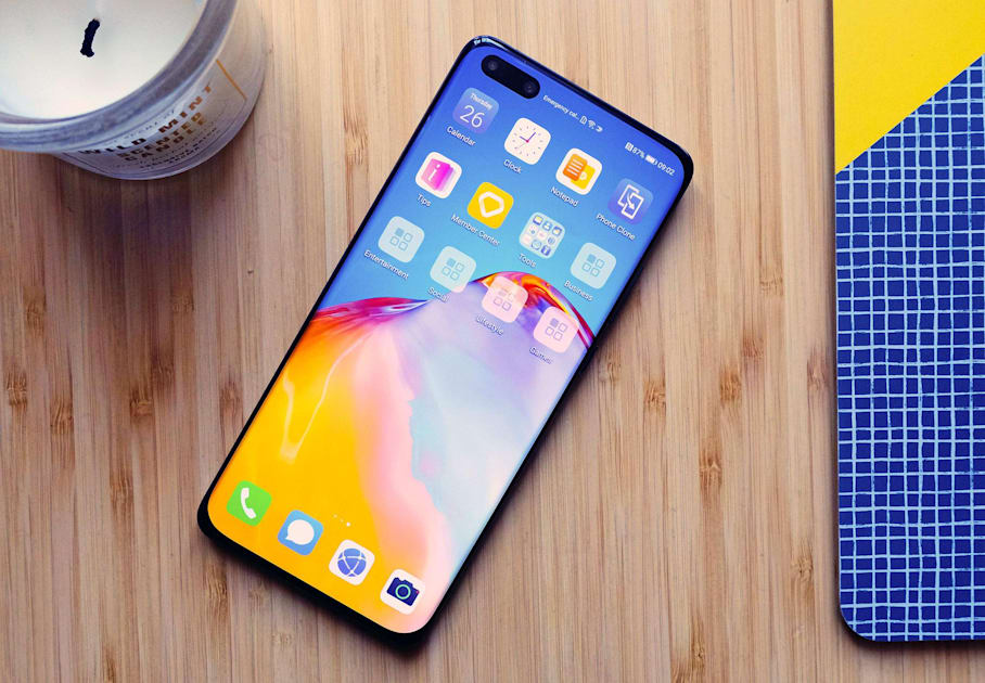 Huawei's P40 phones have giant imaging sensors and a camera for everything