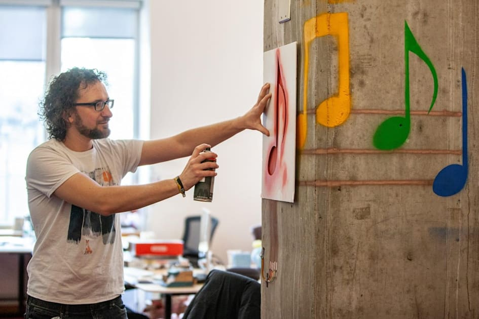 MIT project turns spray paint into a functional user interface