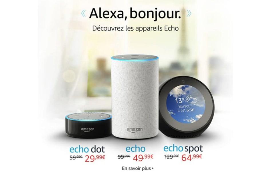 Bonjour, Alexa: Amazon's Echo finally comes to France