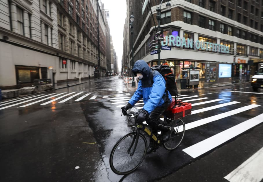 Food delivery apps, the pandemic and finding a new normal
