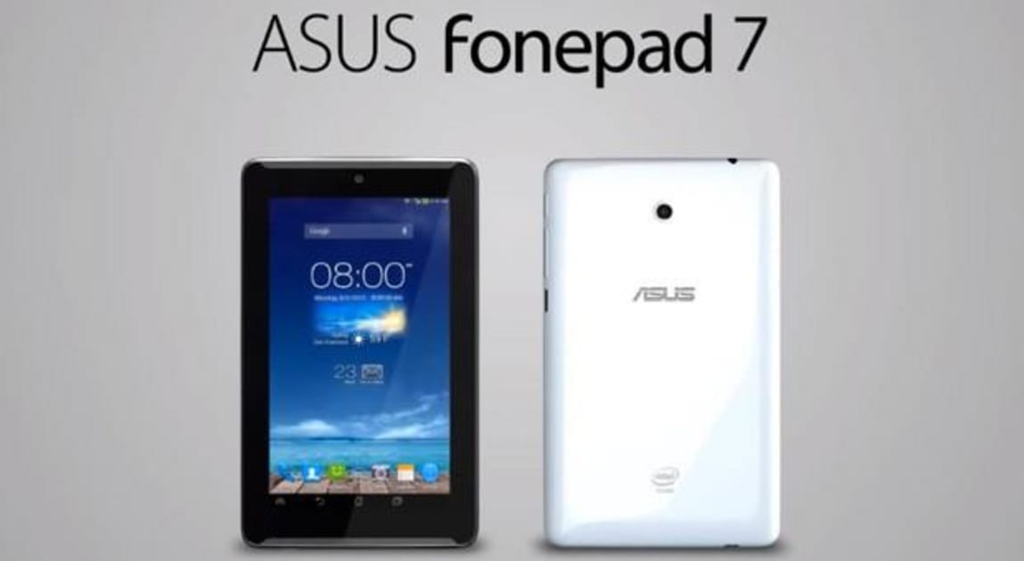 ASUS briefly posts Fonepad 7 ad that reveals dual front speakers (video)