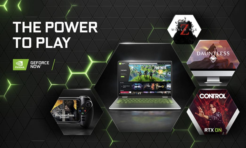 NVIDIA adds 'Control' and other games to GeForce Now