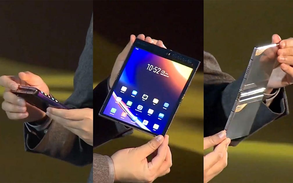 Royole's next foldable phone is much better at bending thumbnail