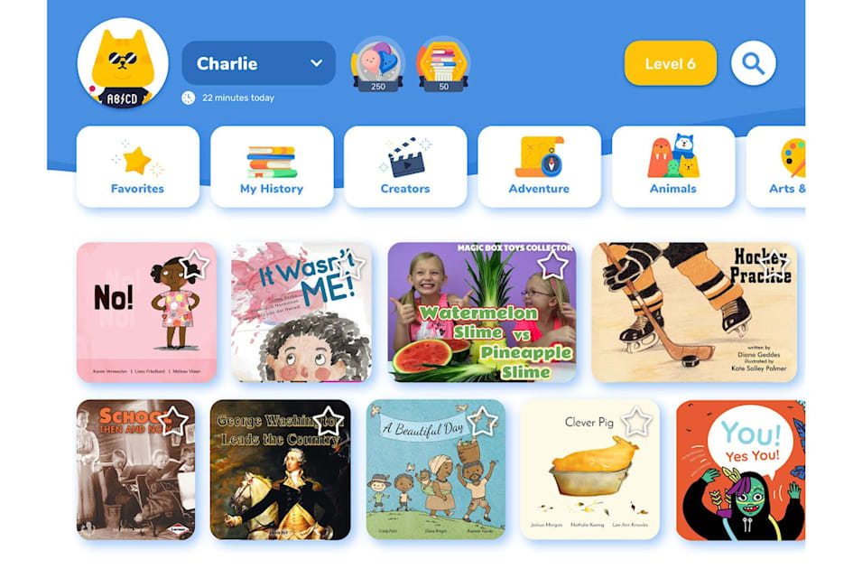 Google's experimental Rivet app helps kids learn to read