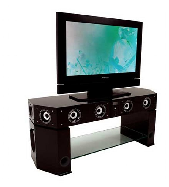 Stand Out With Evesham's Speakerful TV Stand