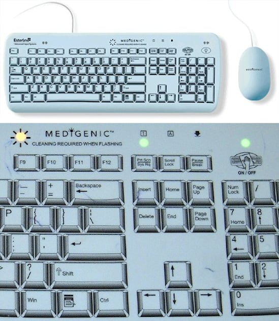 Corona Virus Zombie Hoax: Medigenic Infection Control Keyboard Will Be Easy To Clean