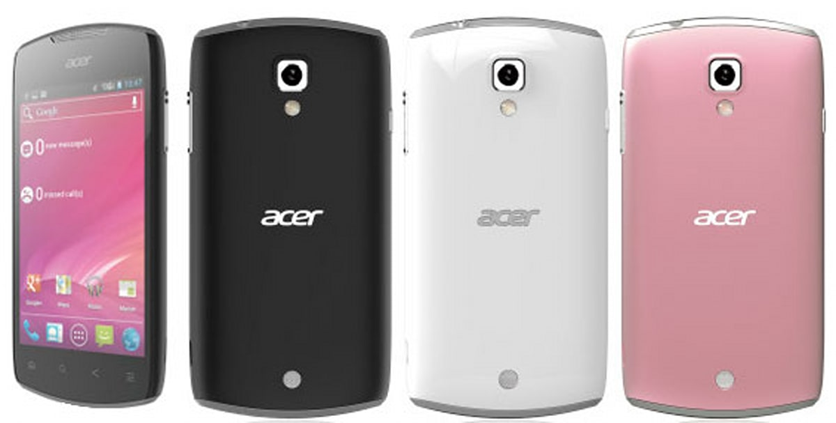 Acer Liquid Glow: Glossy-coated ICS Phone To Show Up At