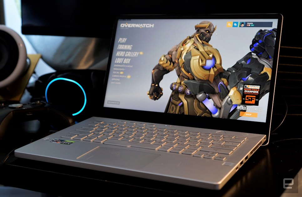 Asus Zephyrus G14 Review Ultraportable Gaming Done Right Engadget
