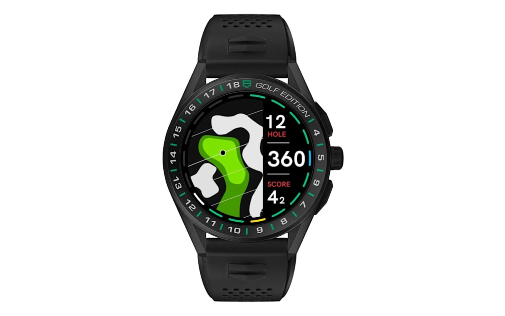 TAG Heuer's special edition smartwatch is made for the golf course