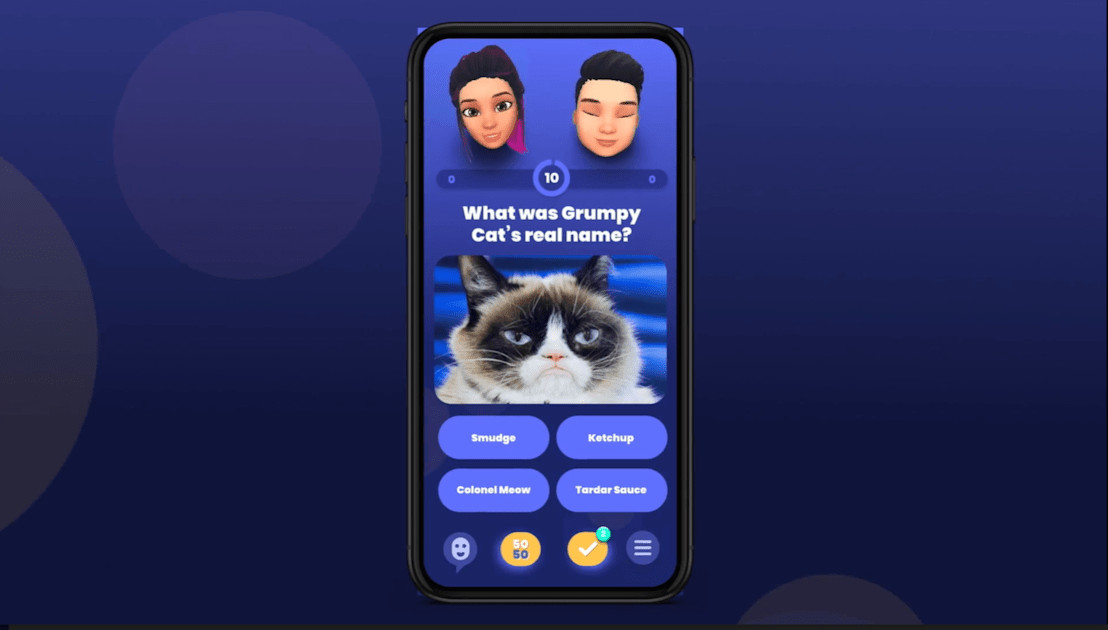The QuizUp team is back with a battle royale trivia game 1