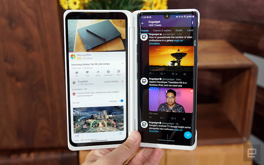 Image of article 'LG Velvet hands-on: The case for mid-range, dual-screen phones'