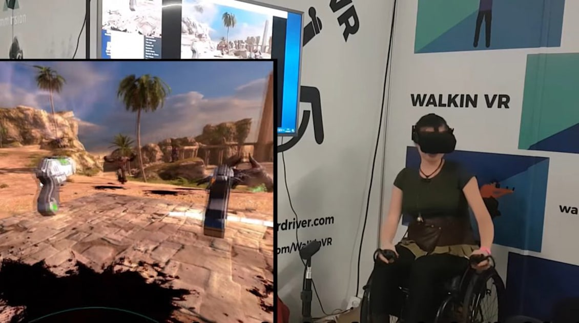 Steam add-on makes VR games more accessible