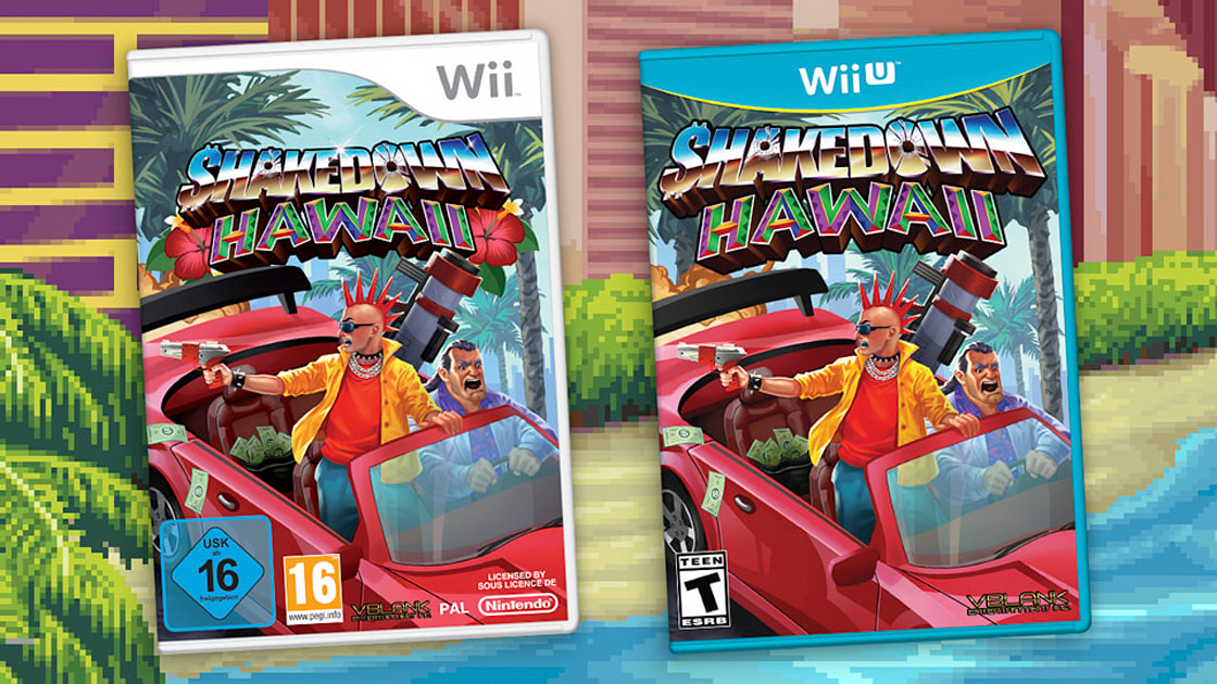 'Shakedown Hawaii' is coming to Wii and Wii U 1