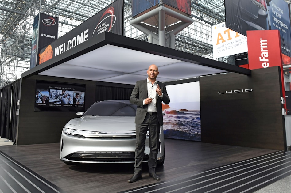Image of article 'Lucid Motors' first EV will come with LIDAR driving assistance as standard'