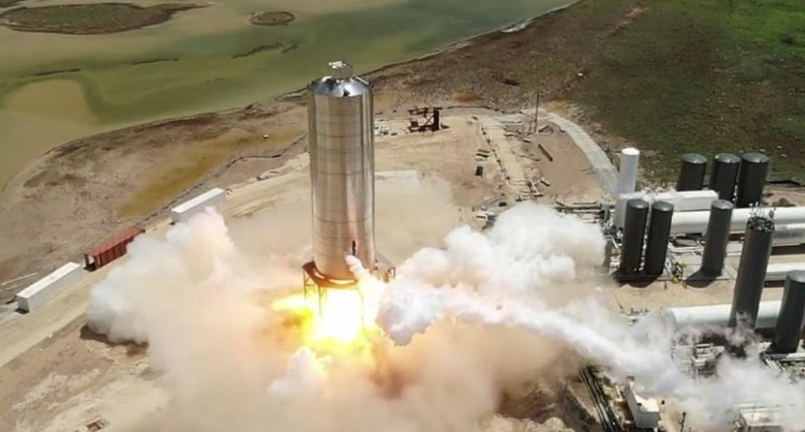 After Starship test fire Elon Musk expects 150m hop 'soon' – Engadget