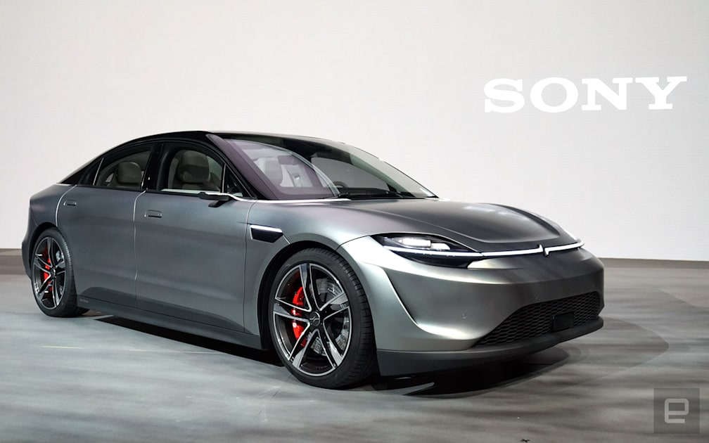 Sony plans to test its prototype Vision-S electric car on public roads