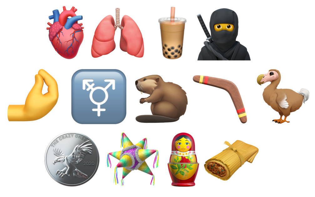 Apple shows off the new emoji coming to iOS this year