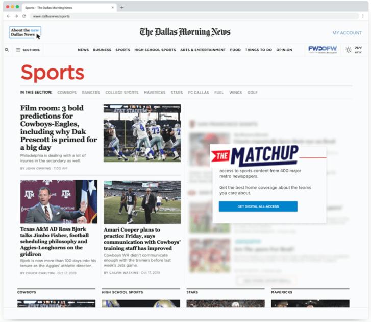 Google's latest local news effort is a dedicated sports hub 1