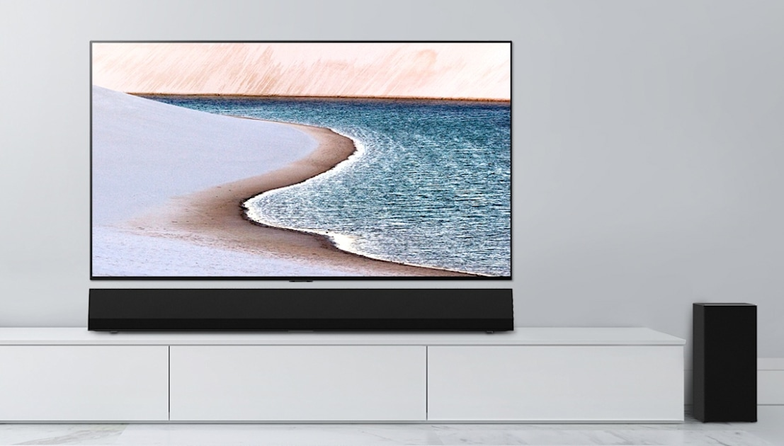 LG's $1300 sound bar is made to match the new GX series OLEDs – Engadget