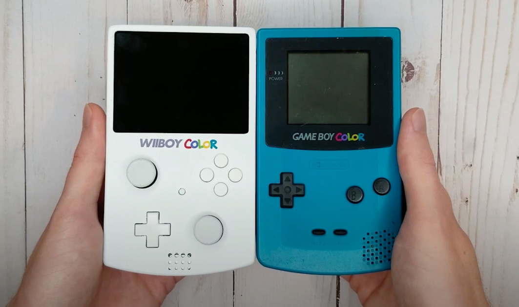 Someone squeezed a Nintendo Wii into a Game Boy Color-like case – Engadget
