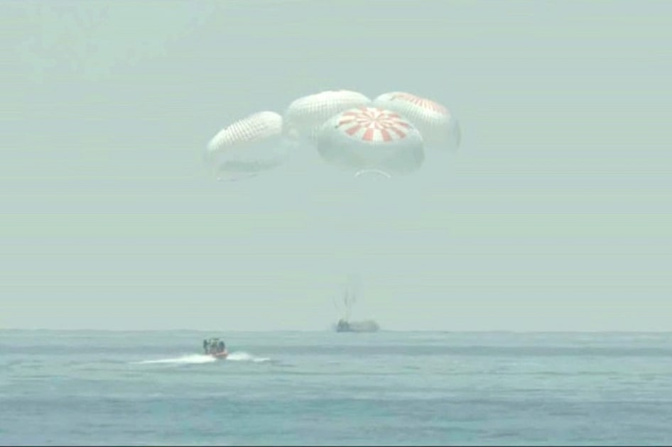 The Morning After: NASA-SpaceX astronauts' historic splashdown – Engadget