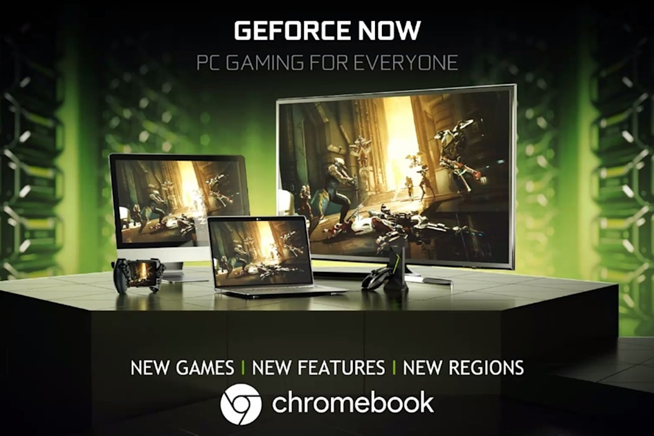 NVIDIA brings GeForce Now game streaming to Chromebooks | Engadget