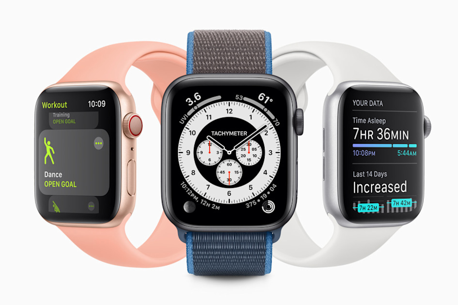 Apple's first watchOS 7 public beta is now available – Engadget