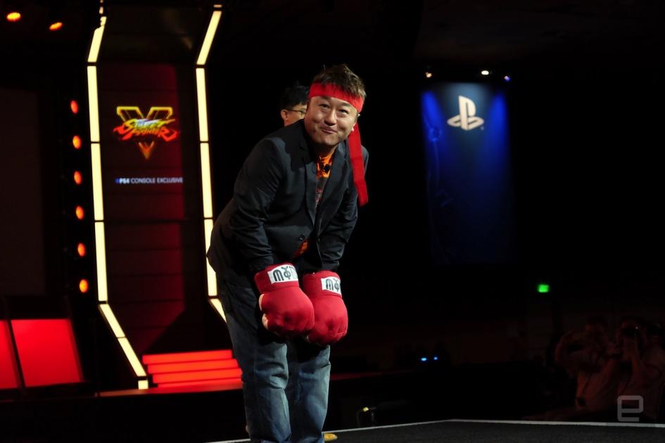 Longtime Street Fighter producer Yoshinori Ono departs Capcom 1