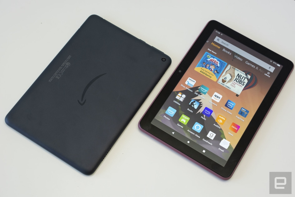 Amazon's HD Fire tablets are back at all-time lows – Engadget