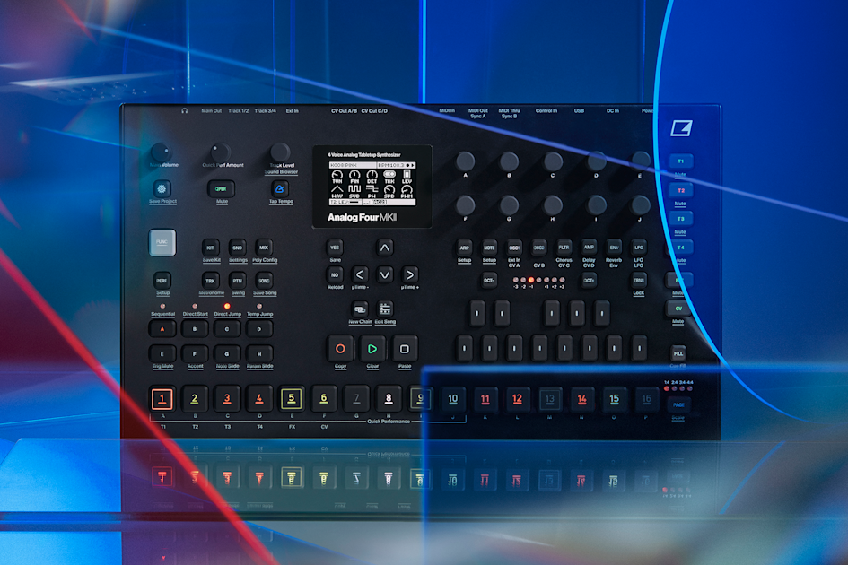 Elektron's Analog Four and Rytm get both design and software upgrades