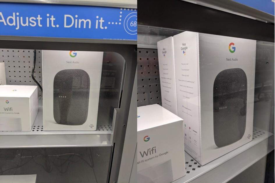 Google's Nest Audio speaker revealed early by Walmart – Engadget