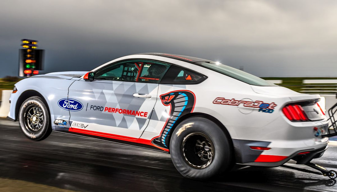 Ford's electric Mustang dragster covers a quarter-mile in 8.27 seconds – Engadget