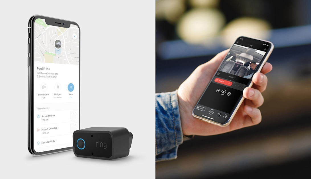 Ring announces a security camera and alarm for your car – Engadget