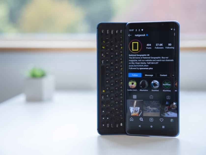 The F(x)tec Pro1-X is a nerdy phone for nerdy people