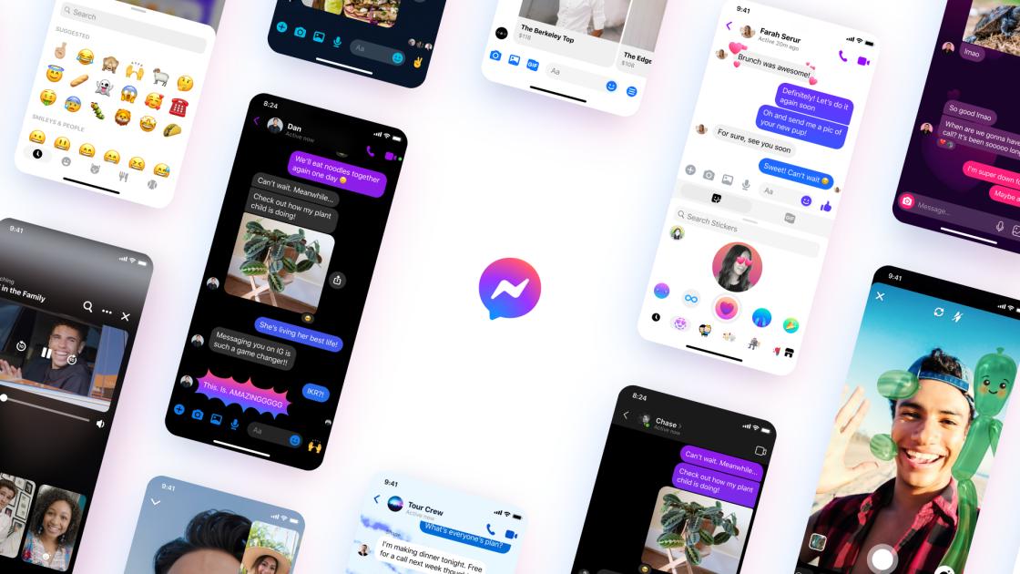 Facebook Messenger gets a new logo and a fresh design