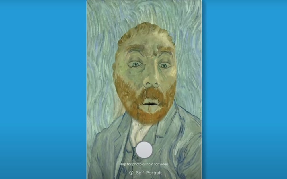 Google Arts & Culture app lets you turn yourself into a Van Gogh painting