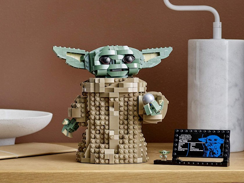 Lego's Baby Yoda set is ready just in time for more 'Mandalorian' - Engadget