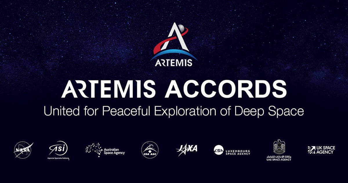 Eight nations sign NASA's Artemis Accords pledging peace on the moon – Engadget