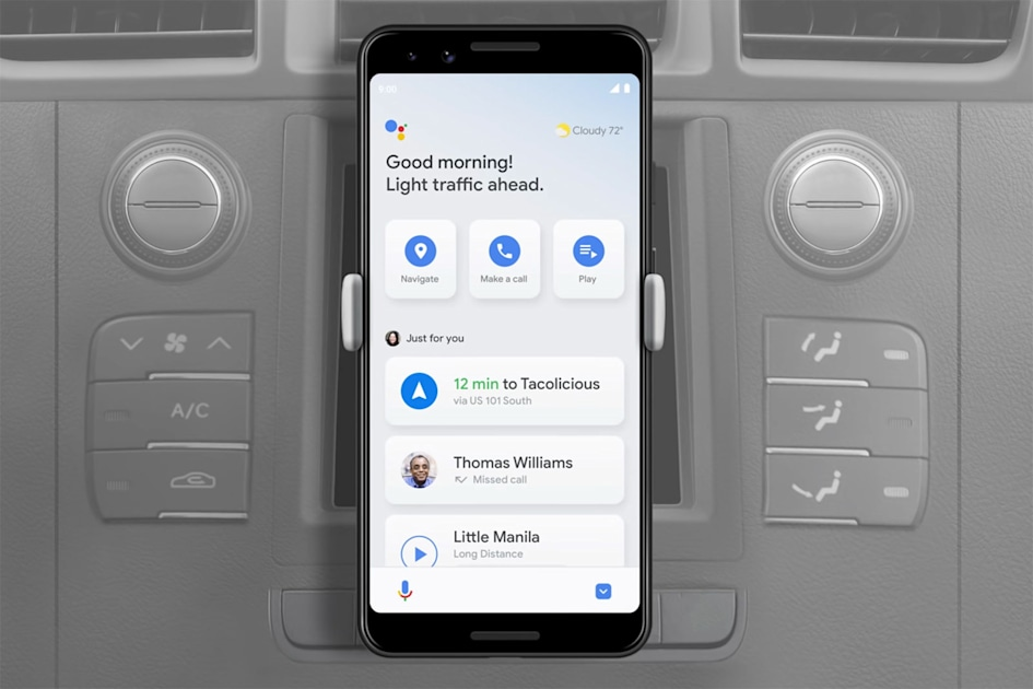 Android phones are finally getting their Google Assistant driving mode, over a year later than planned.