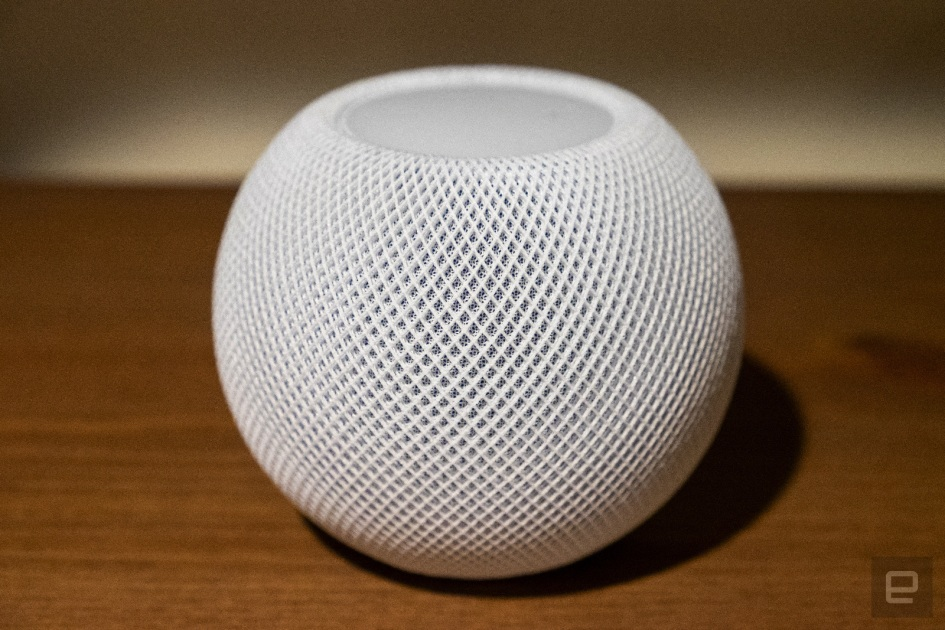 Apple's HomePod mini won't leave marks on your fancy wood furniture – Engadget