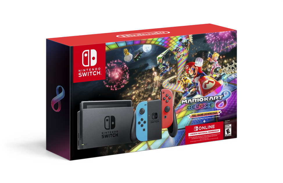 You can get a Nintendo Switch bundled with 'Mario Kart 8 Deluxe' for only $300 in a special Black Friday sale.