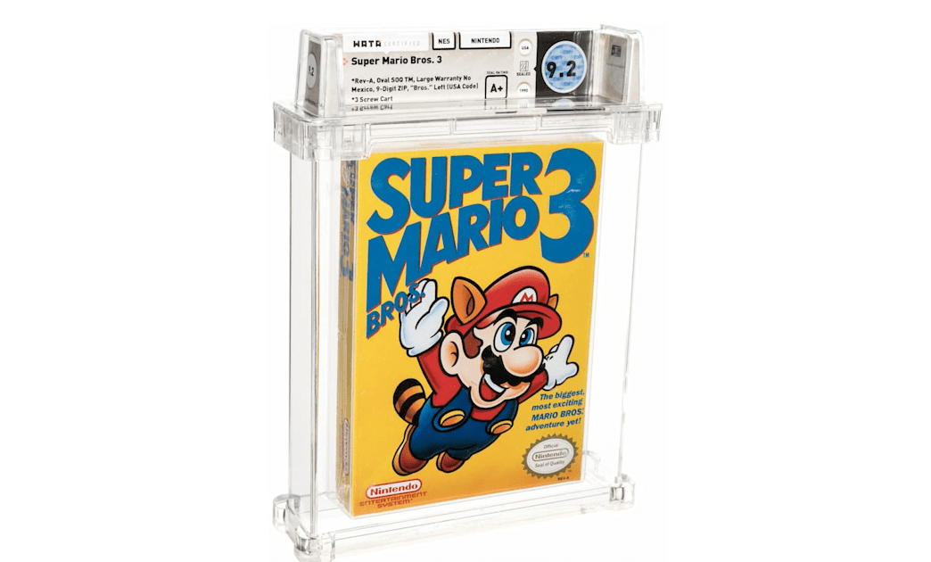 A copy of 'Super Mario Bros. 3' sold for $156000 – Engadget