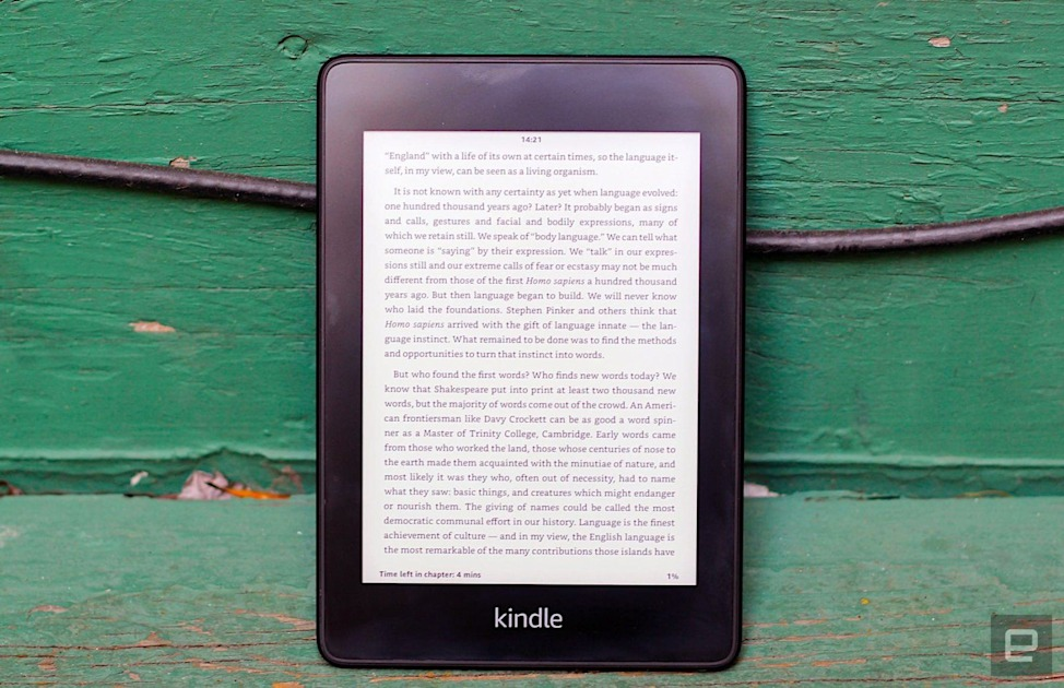 Amazon discounts the Kindle Paperwhite to $85 for Black Friday