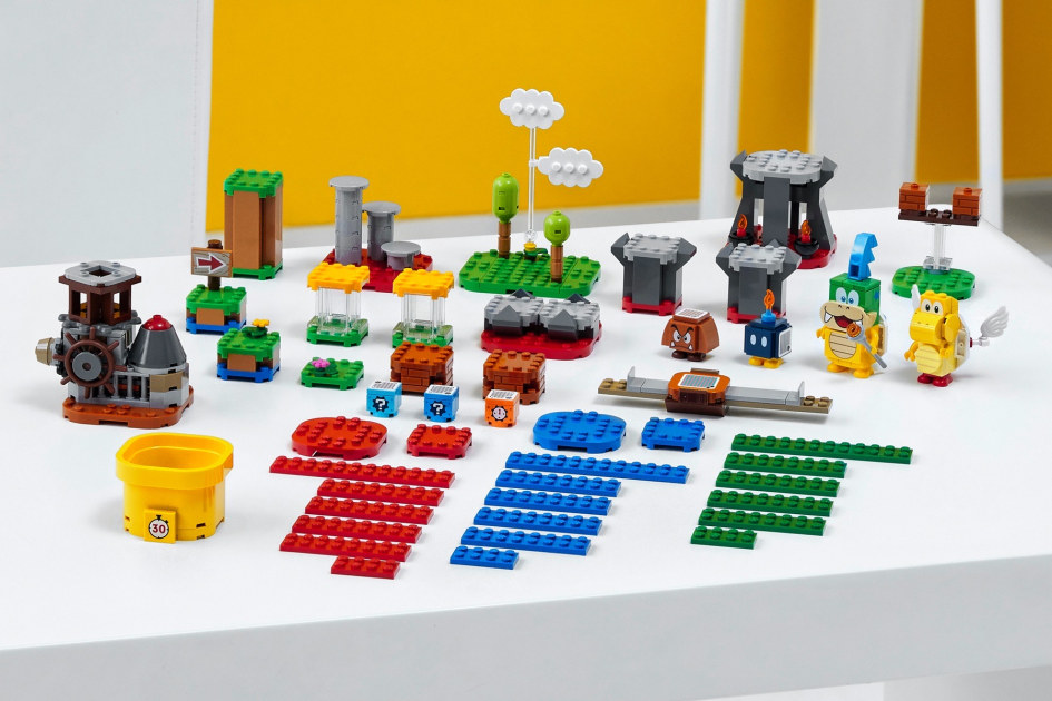 Lego's next Mario sets make it easier to build the course of your dreams – Engadget