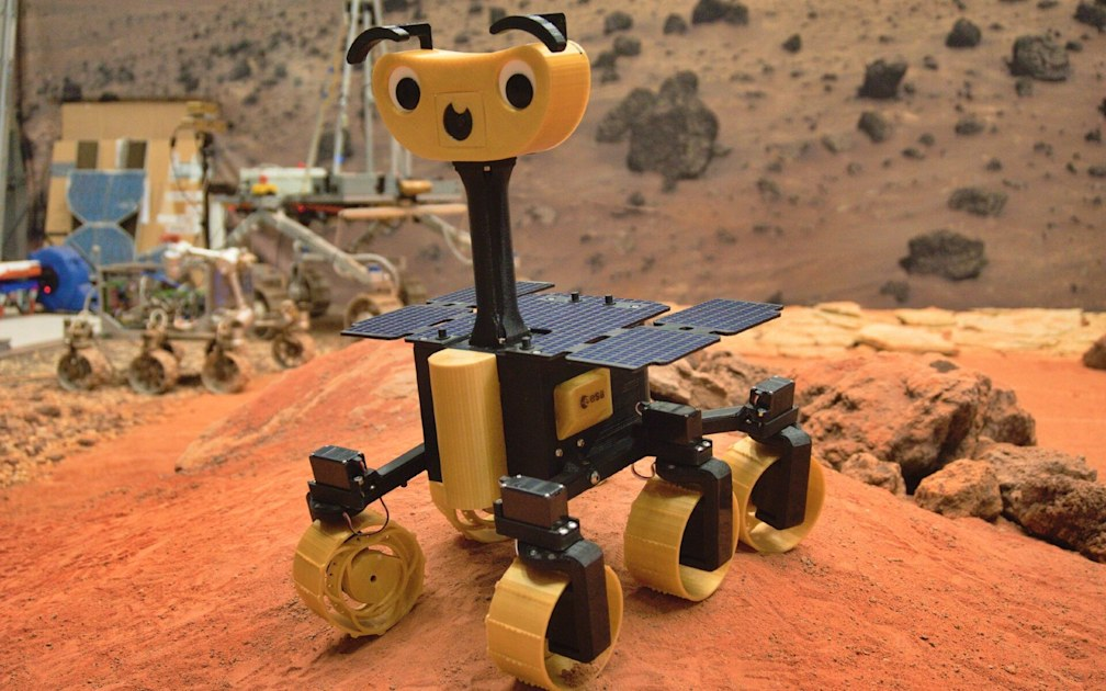 The ExoMy is a programmable $600 Mars rover you can build yourself - Engadget