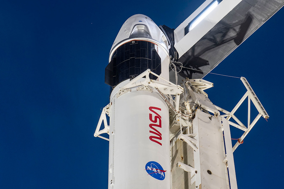 Watch SpaceX's first operational Crew Dragon mission at 7:27PM ET
