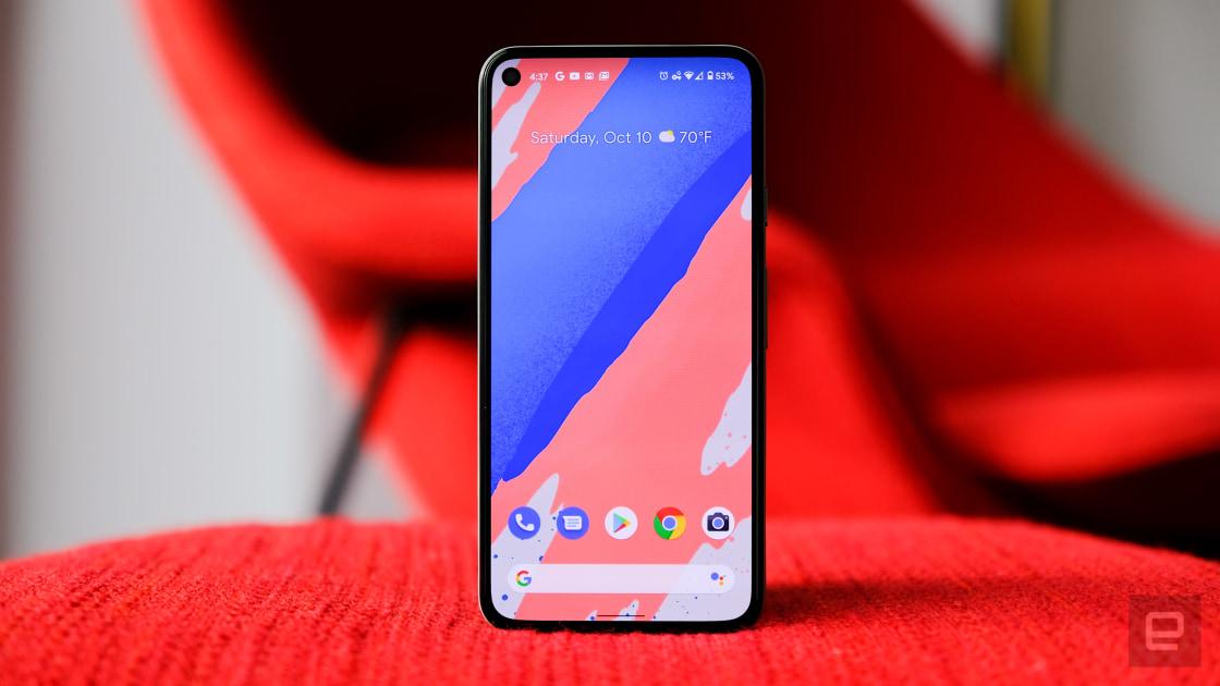 Google calls reported Pixel 5 screen gaps 'normal'
