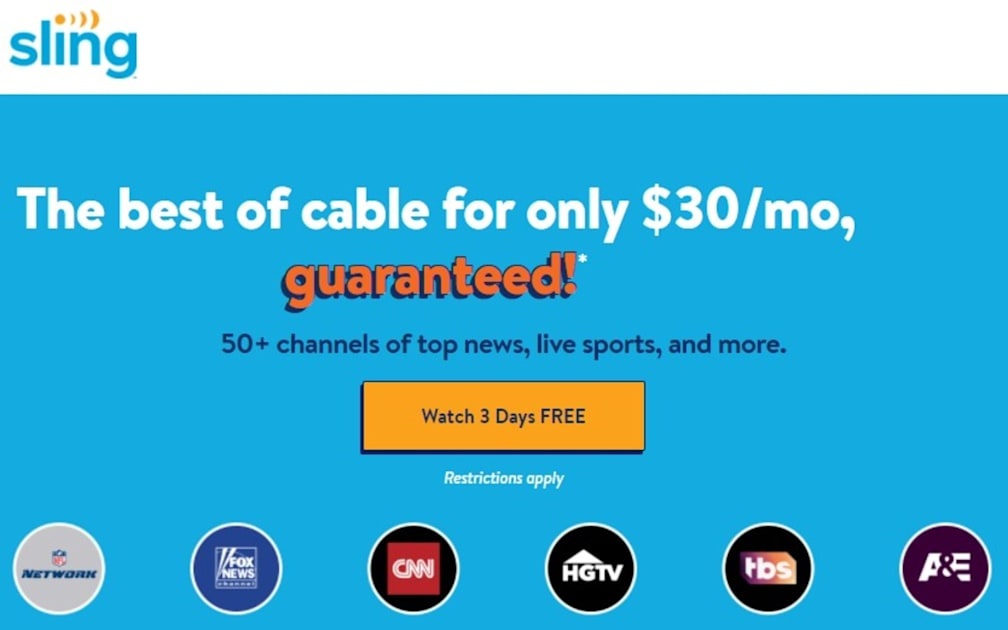 Google Fiber adds Sling TV as its latest streaming option