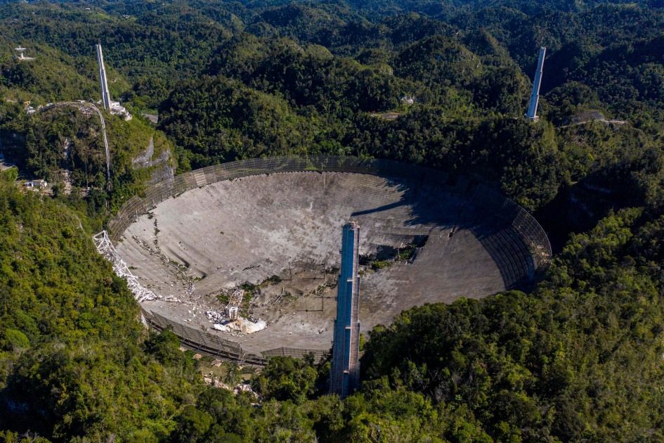 NSF offers a closer look at how the Arecibo Observatory collapsed