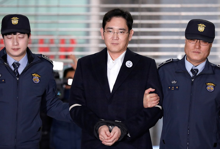 Samsung heir Jay Y. Lee is going back to jail for bribery – Engadget